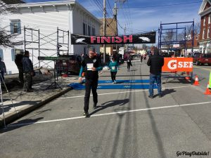 Magoo Crossing the Bridge the Gap Finish Line