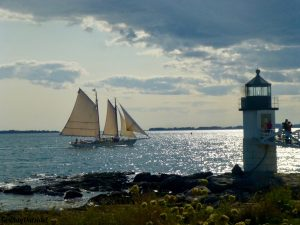 The Marshall Point Lighthouse Port Clyde Maine