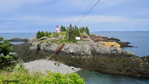 Head Harbor Light (AKA East Quoddy Lighthouse) Campobello Island, New Brunswick, Cananda