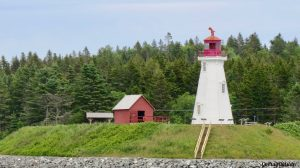Mulholland Point Lighthouse, Campobello Island, New Brunswick, Canada