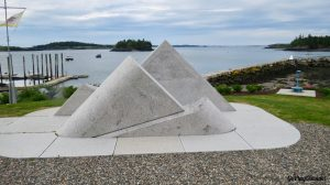 Memorial to Lubec Maine's Lost Fishermen