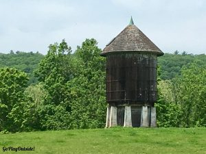 Silo Along the Appalachian Trail in New York