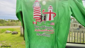 Bay of Fundy International Half Marathon Race Shirt