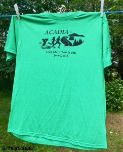 MDI YMCA Half Marathon Race Shirt