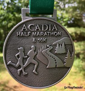 MDI YMCA's Half Marathon Finisher's Medal