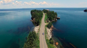 The Road to East Quoddy Lighthouse, Campobello Island, New Brunswick, Canada