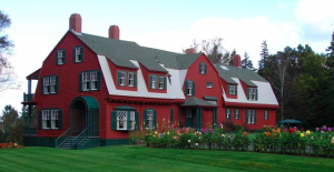 US National Park Service Photo of Franklin Delano Roosevelt's Summer Home on Campobello Island, New Brunswick, Canada