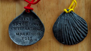 Bay of Fundy International Marathon and Half Marathon Finishers Medal