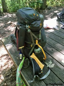 Gossamer Gear Gorilla Backpack with the Brain