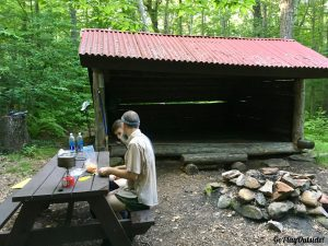 Mount Wilcox North Shelter Massachusetts Appalachian Trail