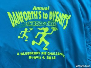 Dysart's to Danforth's Road Race Shirt