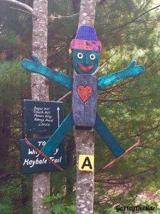 Race Through the Woods, Hidden Valley Nature Center, Jefferson, Maine