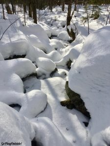 Snowshoeing Bigelows