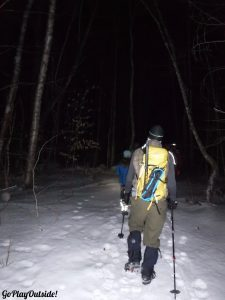 Bangor Outdoor Club Chick Hill Night Hike Clifton Maine