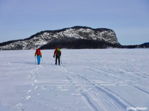 Mount Kineo Rockwood Greenville Moosehead Lake Winter Hiking