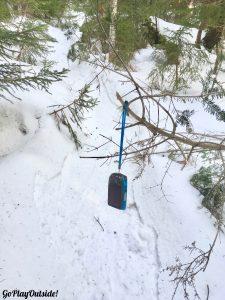 Little Moose Mountain Snowshoeing Greenville Area Moosehead Lake Region