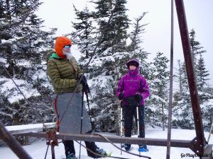 Bangor Outdoor Club Number Four Mountain Frenchtown Maine Snowshoeing