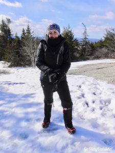 Great Pond Mountain Conservation Trust Orland Maine Microspikes Hiking Winter