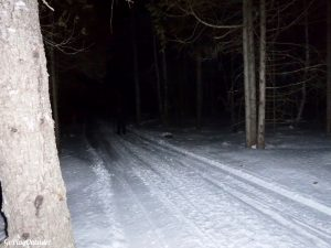 Full Moon Moonlight Backcountry Ski Maine