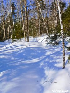 Big Moose Mountain Winter Hike Ski Snowshoe Greenville Moosehead Lake Region