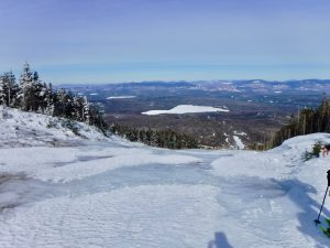 Saddleback Mountain The Horn Rangeley Area Butt Sledding Winter Maine 4000 Footer Appalachian Trail