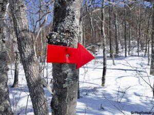 Mount Kineo Rockwood Greenville Moosehead Lake Area Maine Snowshoe Winter Hiking