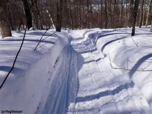 Mount Kineo Rockwood Greenville Moosehead Lake Area Maine Snowshoe Winter Hiking