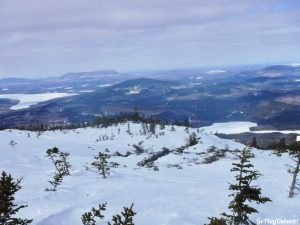 White Cap Mountain Whitecap 100 Mile Wilderness Moosehead Lake Region Greenville Maine Moosehead Pinnacle Pursuit Snowshoeing Winter Hiking