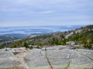 Acadia National Park Cadillac Mountain South Ridge Trail Mount Desert Island