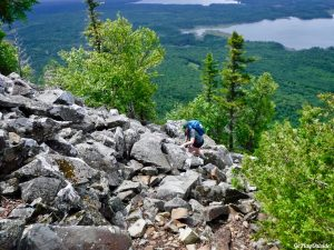 Little Spencer Mountain Hiking Bangor Outdoor Club Maine
