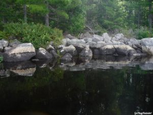 Moosehorn Stream Hothole Stream Hothole Pond Canoeing Paddling Great Pond Conservation Trust Wildlands Orland Maine
