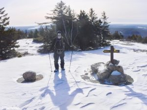 Great Pond Mountain Wildlands Orland Maine Winter Hike