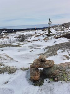 Winter Hiking Acadia National Park